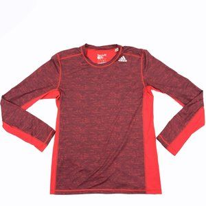Adidas Techfit Crew Athletic Long Sleeve T Shirt